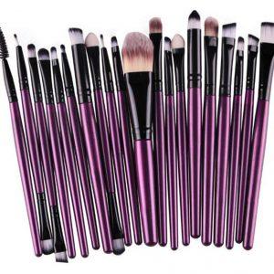 20pcs purple-black