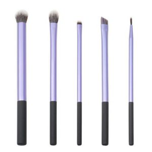 LyDia 5pcs Purple Eye Makeup Brush