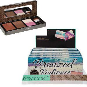 Technic Bronzed Radiance Bronzing Palette 5