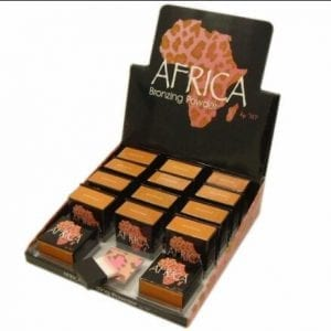 W7 Africa with display tray