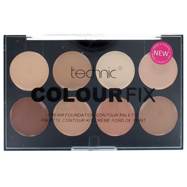 technic colourfix cream foundation contour palette. Black Bedroom Furniture Sets. Home Design Ideas