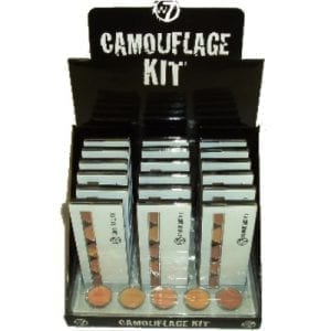 Camouflage kit tray