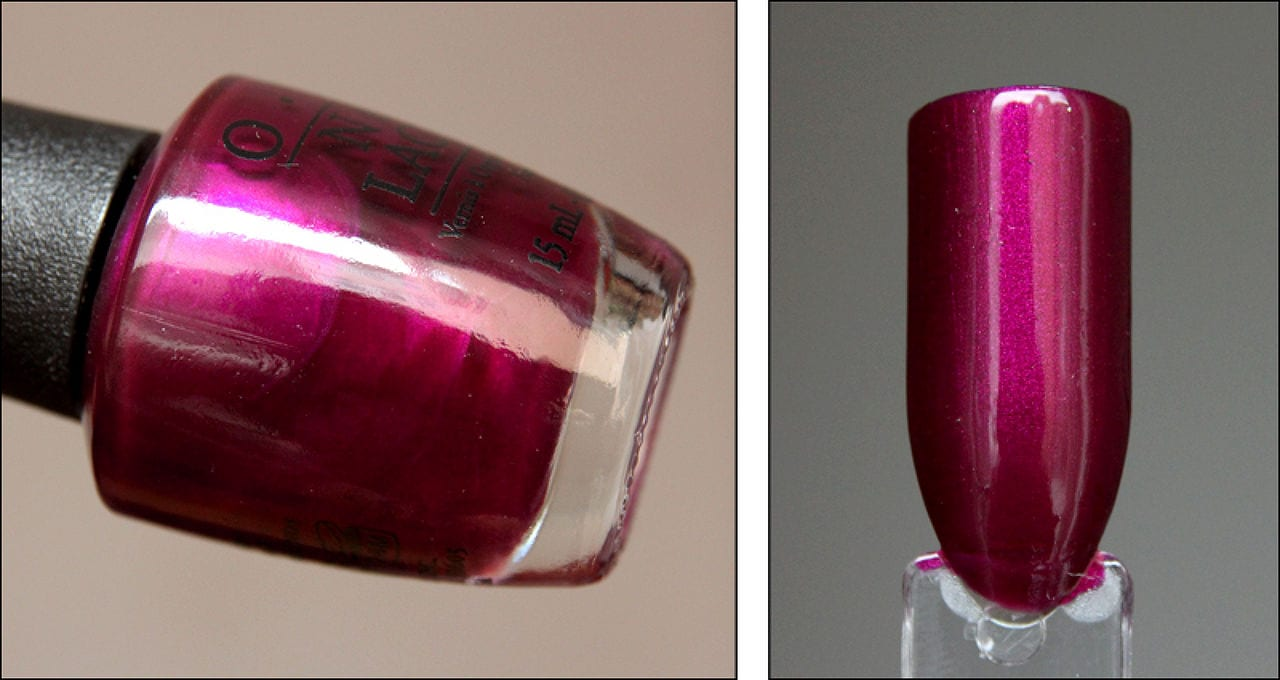 OPI Nail Lacquer Nail Polish 15ml HR F02 Kiss Me – Or Elf! - Colour ...
