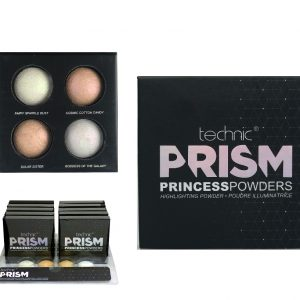 Technic Prism Princess Highlighting Baked Powder Quad 10 units