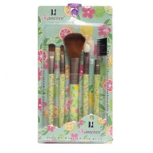 Kameiren 5pcs makeup brush set - Summer Fruits