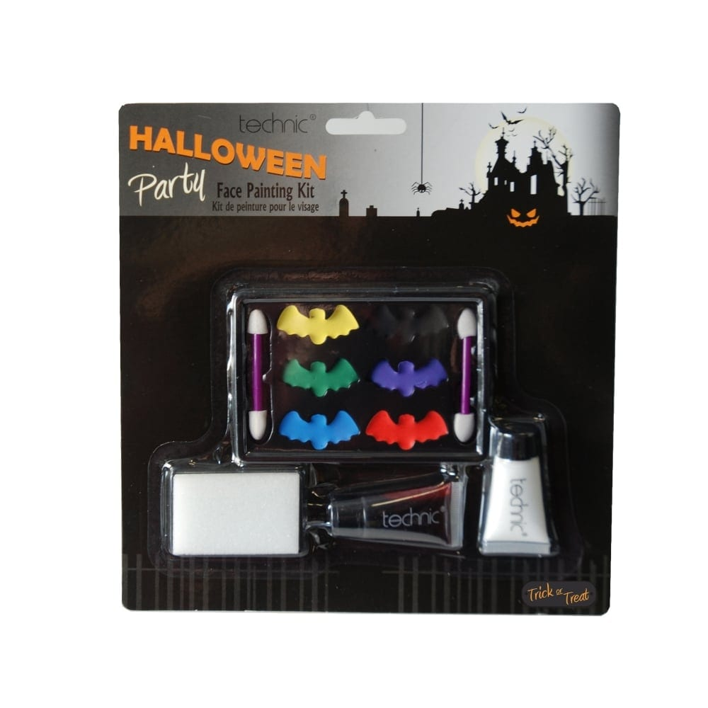 Technic Halloween Face Painting Kit Colour Zone Cosmetics