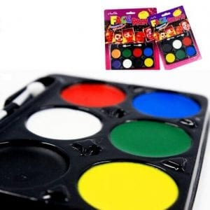 8pcs face paint palette 1
