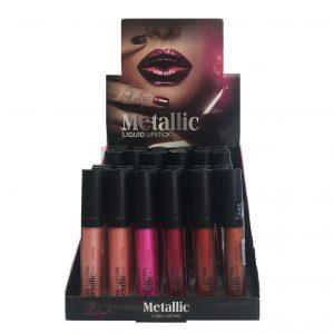 Lilyz metallic liquid lipstick tray