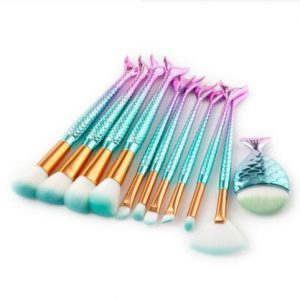 11pcs fishtail brush set