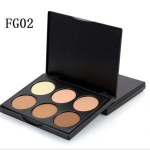FG02 6 colours Contour Palette