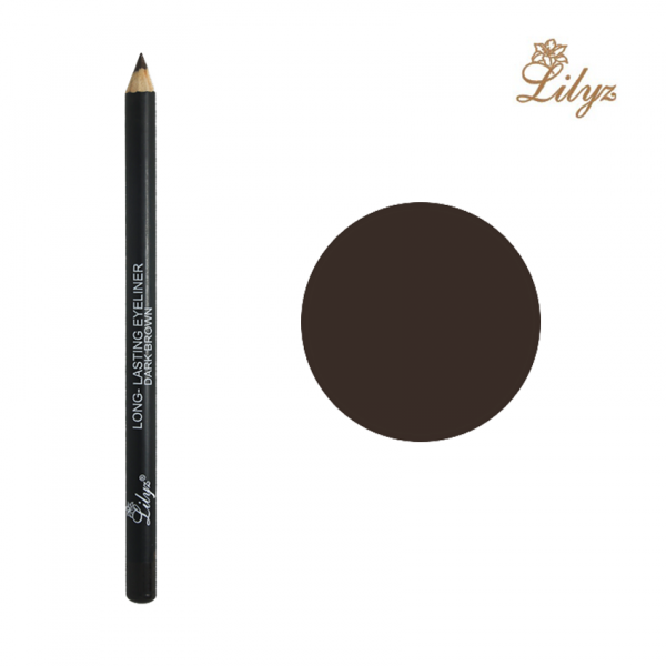 Lilyz Long-Lasting Eyeliner Pencil - Dark Brown