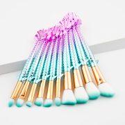 10pcs Flying Fish makeup brush set 2