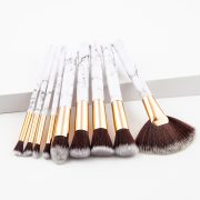 9pcs marble makeup brush set 1