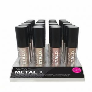 Technic Metalix Eyeshadow Cream - mixed tray