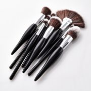 8pcs Black-Silver Makeup Brush Set 2