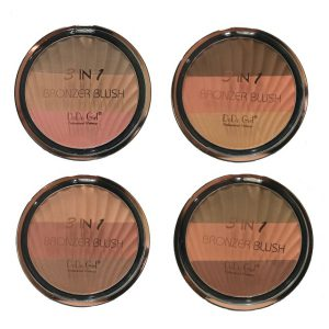 DoDo Girl 3 in 1 Bronzer Blush 01-04