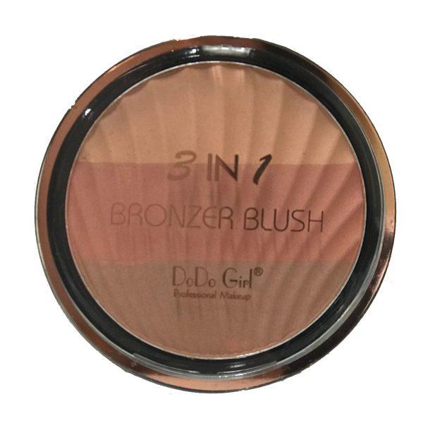 DoDo Girl 3 in 1 Bronzer Blush 03