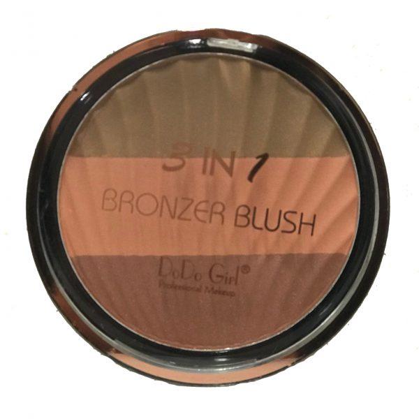 DoDo Girl 3 in 1 Bronzer Blush 04