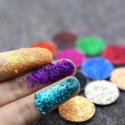 PopFeel 6pcs Glitter Shimmer Eyeshadow 1