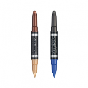 Rimmel Magnif'Eyes Double Ended Shadow-Liner 003 Queens of Tthe Bronzed Age + 004 Dark Side of Blue