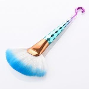 Blue Hook Large Fan Brush