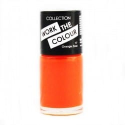 Collection Work The Colour Nail Polish 17 Orange Zest