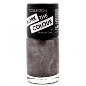 Collection Work The Colour Nail Polish 19 Titanium Grey