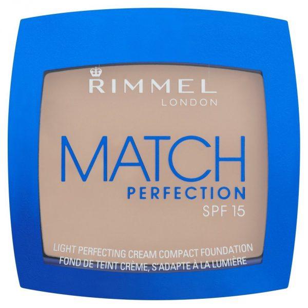Rimmel Match Perfection Cream Compact Foundation - 010 Light Porcelain