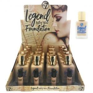 W7 Legend Foundation TRAY