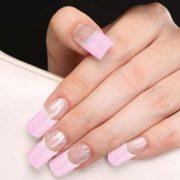 70pcs Shimmer Nail Tips 076 1