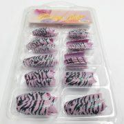 70pcs Shimmer Nail Tips 126 2