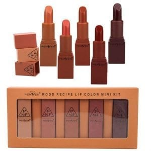 PeiFen 5pcs Lipstick 1