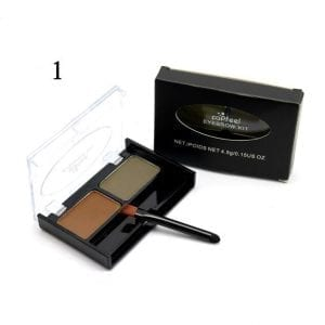 PopFeel 2 Colours Brow Powder Kit 01