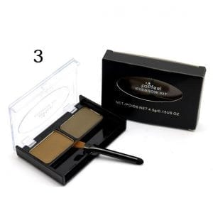 PopFeel 2 Colours Brow Powder Kit 03