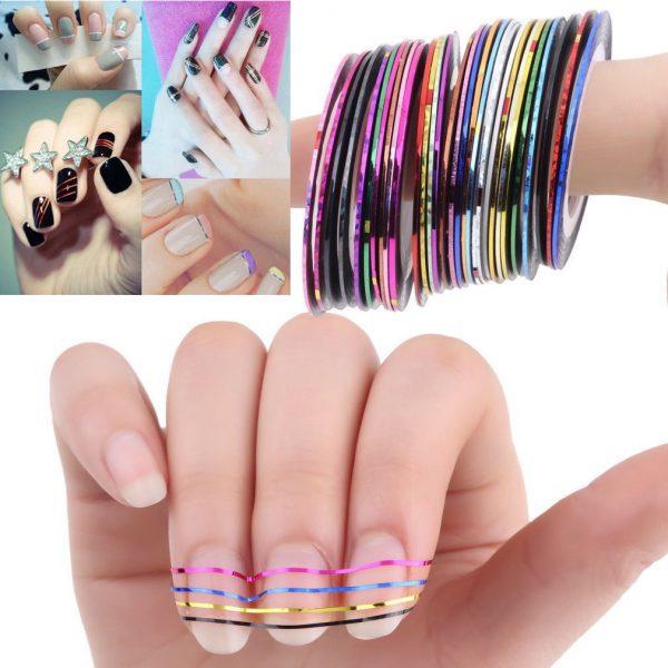 nail tapes