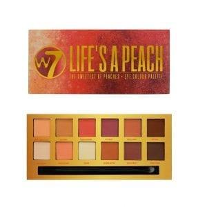W7 Life's A Peach eyeshadow 4