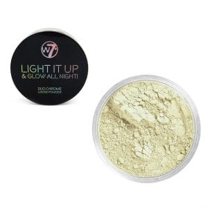 W7 Light It Up & Glow All Night! Loose Powder - Open 24 7 1