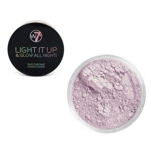 W7 Light It Up & Glow All Night! Loose Powder - Soho Soho Soho 1