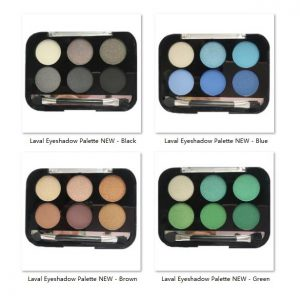 Laval Eyeshadow Palette NEW 4pcs