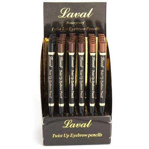 Laval Twist Up Eyebrow Pencils TRAY