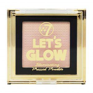 W7 Let's Glow Illuminating Pressed Powder 4