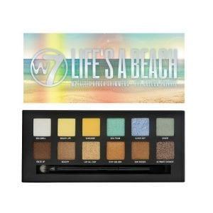 W7 Life's A Beach eyeshadow palette 7