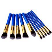 10pcs blue gold 1