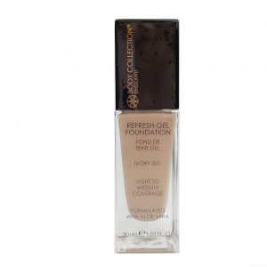 Body Collection Refresh Gel Foundation 001 Ivory