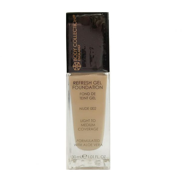 Body Collection Refresh Gel Foundation 002 Nude