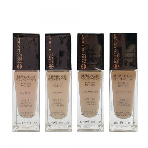 Body Collection Refresh Gel Foundation 4pcs 1