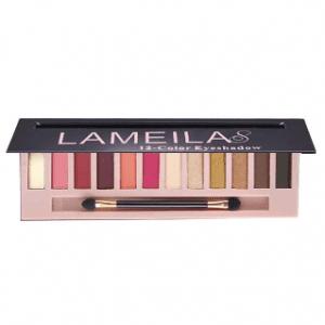 Lameila 12 Colours Eyeshadow Palette 04