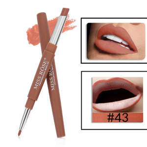 Miss Rose 2 in 1 Lipstick Lipliner 43