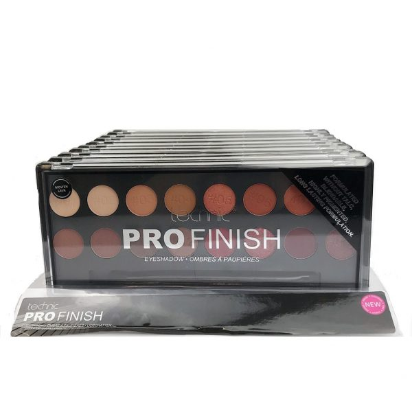 Technic Pro Finish Eyeshadow Palette - Molten Lava TRAY 1