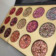 Glamierre 15 Colours Glitter Eyeshadow 2